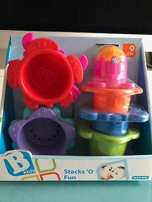Stacking Cups For Babies - Brand New
