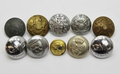 Small Lot of Fire Service / Fire Brigade Buttons #11