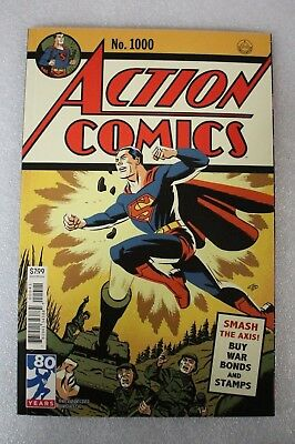Action Comics #1000 Michael Cho 1940s Variant Edition Cover  2018 Superman