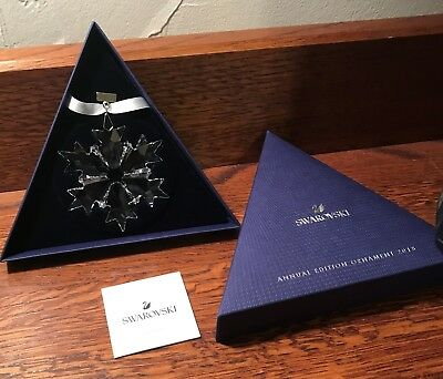 2018 Large Swarovski Austria Annual Edition Ornament Snowflake 5301575 NEW