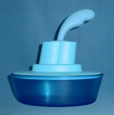 Alessi Blue Butter Dish by Stefano Giovannoni