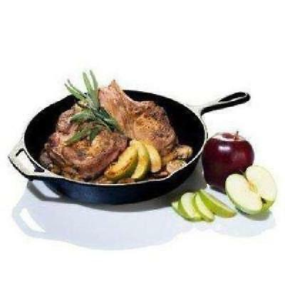 """Cast Iron Skillet 10"""" x 1.75"""" Pre-Seasoned Cooking Pan, Camping, Campfire, Oven"""