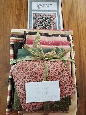 French Medallion Quilt Kit-Fabric & American Jane Pattern Sandy Klop