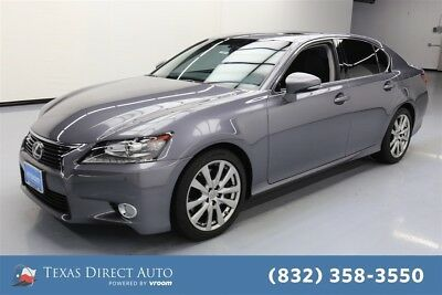2015 Lexus GS 4dr Sedan Texas Direct Auto 2015 4dr Sedan Used 3.5L V6 24V Automatic RWD Sedan Moonroof