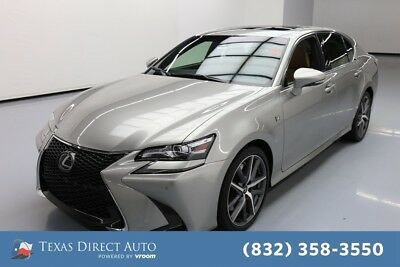 2016 Lexus GS F SPORT 4dr Sedan Texas Direct Auto 2016 F SPORT 4dr Sedan Used 3.5L V6 24V Automatic RWD Sedan
