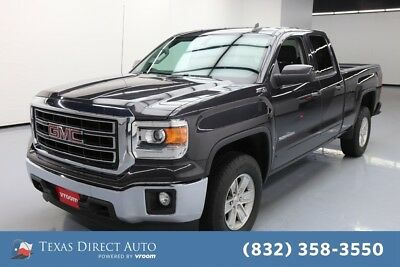 2015 GMC Sierra 1500 SLE Texas Direct Auto 2015 SLE Used 4.3L V6 12V Automatic 4WD Pickup Truck OnStar