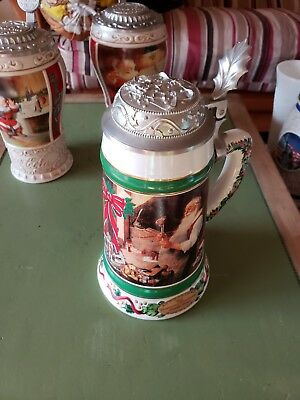 Classic Coca-Cola Santa Steins - Comes with all 3 steins!