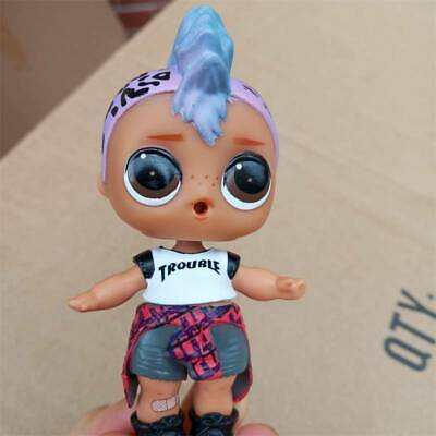 LOL SURPRISE PUNK BOI BOY DOLL Series 3 WAVE 2 Change Color Rock Club Ultra-Rare