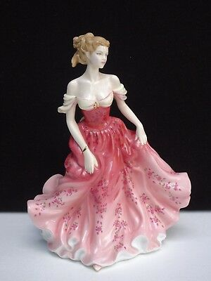 "Royal Doulton Pretty Ladies ""stephanie"" Figurine Of The Year 2007 ~ Hn 4907 Mint"