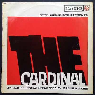 Jerome Moross THE CARDINAL LP Film Soundtrack OST Otto Preminger Romy Schneider