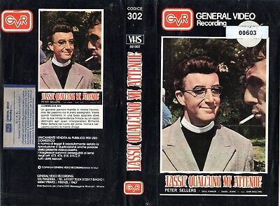 Lassù qualcuno mi attende (Usa 1963) VHS GVR 1a Ed. Peter Sellers Isabel Jeans