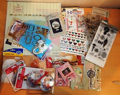 Craft Sale - (Postage Free) Card / Papers / Cross Stitch / Stamps / Overlays Etc