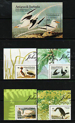 Antigua & Barbuda 1985 Set, 4 Values Plus M.s. Mnh & L.m.m.