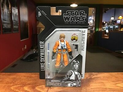 "(DAMAGED) 2019 Star Wars Black Series Archive LUKE SKYWALKER Figure 6"" Inch MOC"