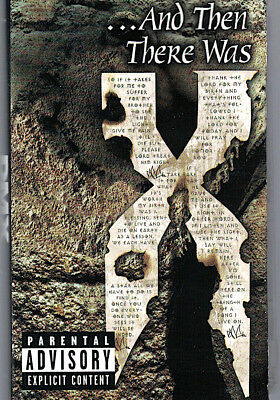 Canada 1999 Dolby Hip Hop Cassette Tape Dmx : And Then There Was X