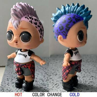 Ultra-Rare! LOL PUNK BOI BOY SURPRISE DOLL Series 3 WAVE 2 Color Change Rock Hot