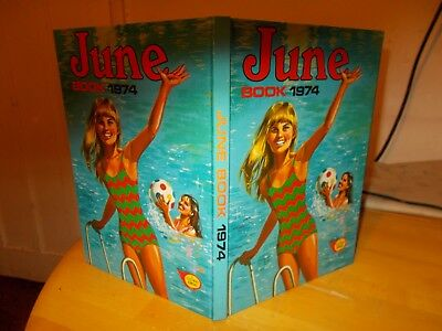 June Annual 1974 Very Good Condition Post Free