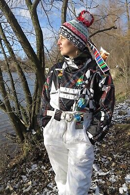 5TH AVE Damen Skianzug 80er True VINTAGE 80s women ski suit 40 winter snowboard