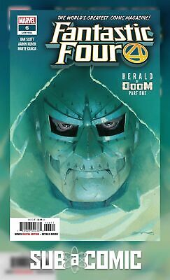 FANTASTIC FOUR #6 (MARVEL 2019 1st Print) COMIC