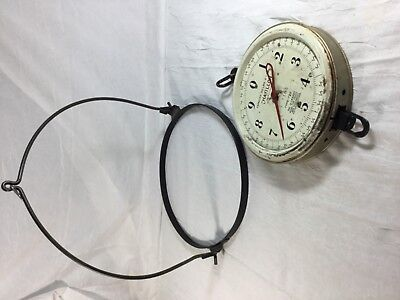 Vintage Chatillon Hanging General Store Produce Scale 20 Lb Type 720