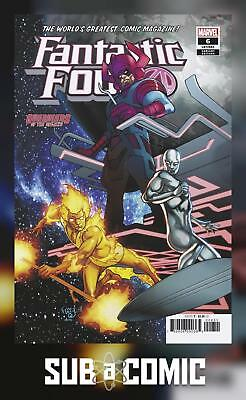 FANTASTIC FOUR #6 FERRY GOTG VARIANT (MARVEL 2019 1st Print) COMIC