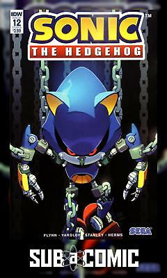 SONIC THE HEDGEHOG #12 COVER A STANLEY (IDW 2019 1st Print) COMIC