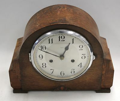 Vintage Smiths ENFIELD Wooden Mantel Clock  - S31