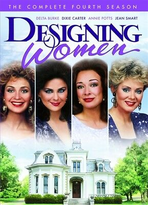 DESIGNING WOMEN COMPLETE FOURTH SEASON 4 New Sealed 4 DVD Set
