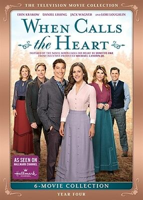 WHEN CALLS THE HEART TELEVISION MOVIE COLLECTION YEAR FOUR 4 New DVD Season 4