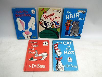 5X Vintage BEGINNER & BRIGHT and EARLY Children's Early Reading Books - C28