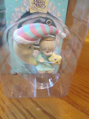 """Precious Moments By Enesco """"May Your Holiday Be Bright With Love"""" 50498 NIB"""