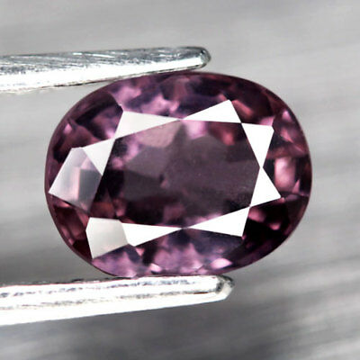 1.34Ct. Glistening! Oval Facet Raspberry Pink Natural Spinel, M'GOK
