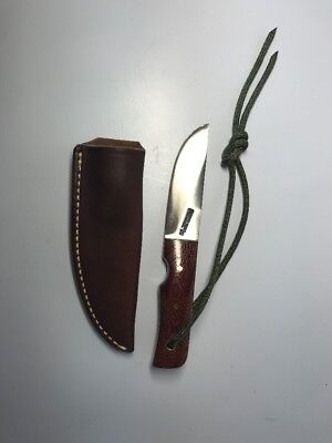 Vintage Randall Salt Fisherman Knife NOS W/ Brown Leather Sheath