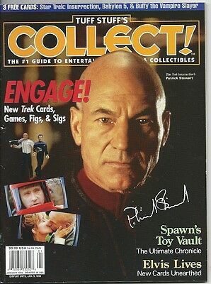 Magazine Tuff Stuff's Collect!  Guide To Entertainment Star Trek January 1999