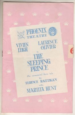 "Vivien Leigh & Laurence Olivier   ""The Sleeping Prince""   Playbill  London 1953"