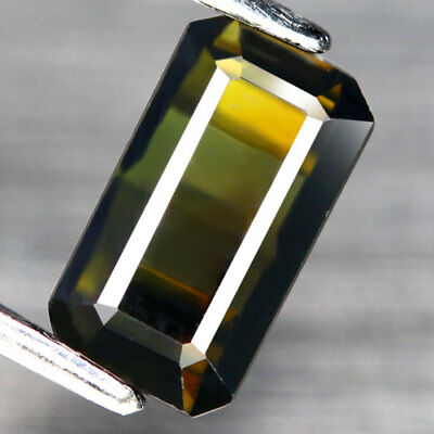 1.66Ct. Gracefully! Octagon Facet Yellowish Green Natural Tourmaline Nigeria