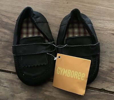 Baby Boy Infanttoddler Size 4 Black Dress Shoes Tender Toes 599