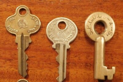 "Vintage BRASS KEY Lot of ""15 of My Best"" EAGLE RUSSWIN ATLAS CORBIN CURTIS"