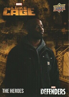 2018 Upper Deck Marvel The Defenders Heroes Luke Cage Insert Card #TH-LC6