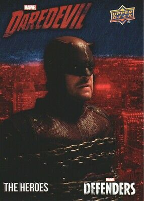 2018 Upper Deck Marvel The Defenders Heroes Daredevil Insert Card #TH-DD10