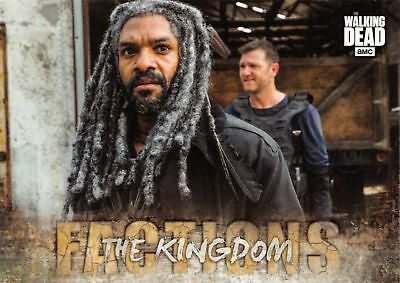 Walking Dead Road To Alexandria FACTIONS Insert Card F-9 / THE KINGDOM