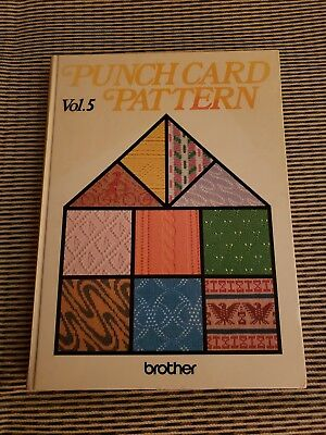 Brother Volume 5 Punchcard Pattern book