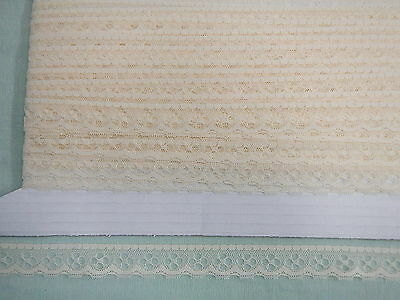 Flat Lace Cream  - 20 metres (40538)