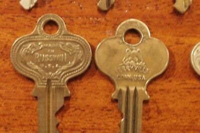 "Vintage BRASS KEY Lot of ""16 of My Best"" MASTER EAGLE ATLAS CORBIN CURTIS ILCO"