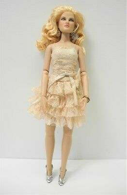 """Robert Tonner 13"""" Revlon Curly Blonde Doll with Shimmering Crush Outfit 2010"""