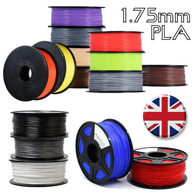 3D Printer Filament - PLA - 1.75mm - 350Meters - Various Colours - UK STOCK