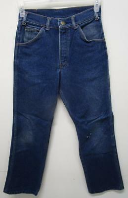 Vintage Key Denim Jeans 42 Talon Zipper 26X28