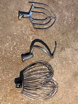 Attachments for 20qt Hobart Mixer(whip,paddle and dough hook).