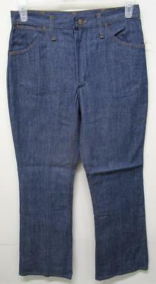 Vintage Blue Bell Maverick Denim Jeans Talon Zipper 30X29