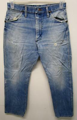 Vintage Wrangler Farm Work Denim Jeans 29X27